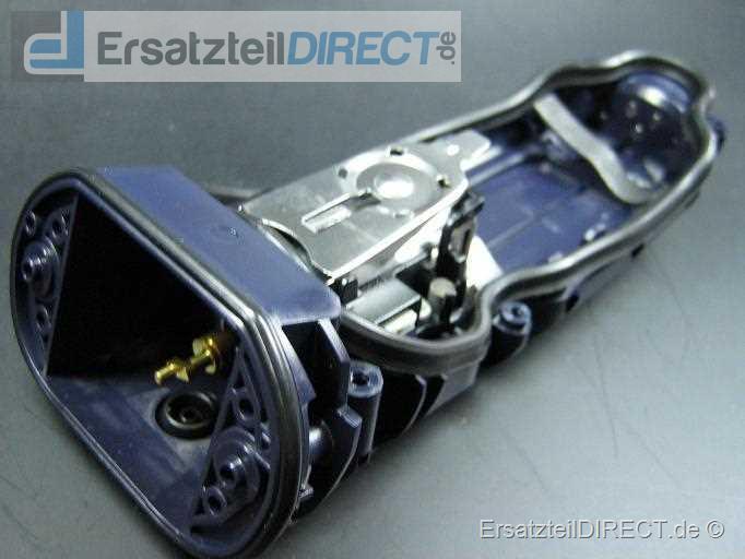 Rasierer (Shaver) Gehäuserückseite inkl. Antriebseinheit und Motor (Housing backside with engine) für Rasierer Serie 3 370, 390 (Type 5772 5774) Serie3 Typ 5776, Serie 3, 330, 320 Typ 5773 - Modell 380 Typ5774 - Modell 350cc, 370, 370cc Typ 5772 - M