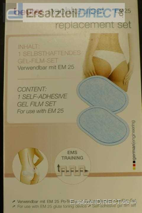 Beurer Po-Trainer Gel-Film-Set EM25 Nachkaufset