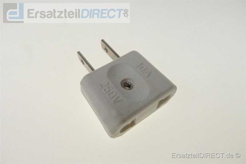 Reisestecker Adapterstecker Euro - USA / Amerika