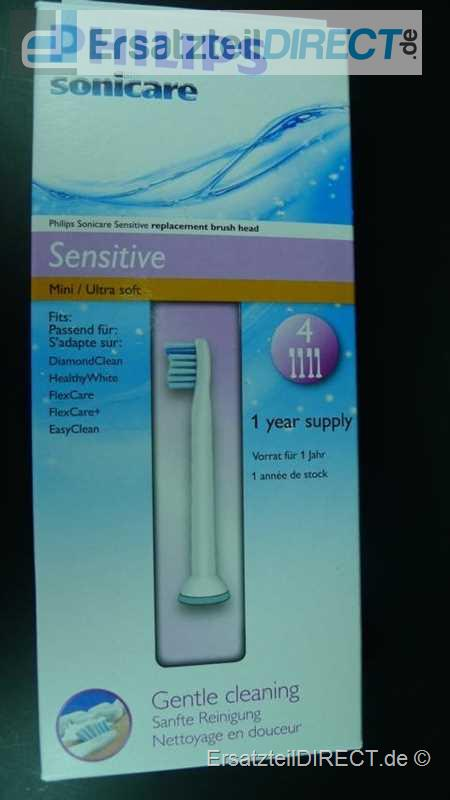 Philips Sonicare SensitiveClean Bürsten HX6084/07