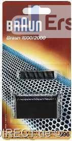 Braun Kombipack 596 (597) schwarz (Folie +Klinge)#
