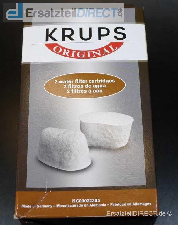 Krups Duo Filter Set / Kalkfilter und Chlorfilter