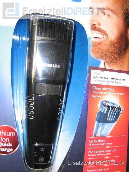 Philips Bartschneider QT4090 Philishave TurboVac #