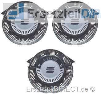 Philips Scherkopf 3er-SET HQ8 zu Sensotec 8-Series