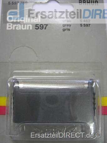 Braun Scherfolie / Scherblatt SB 597 grau (596) #