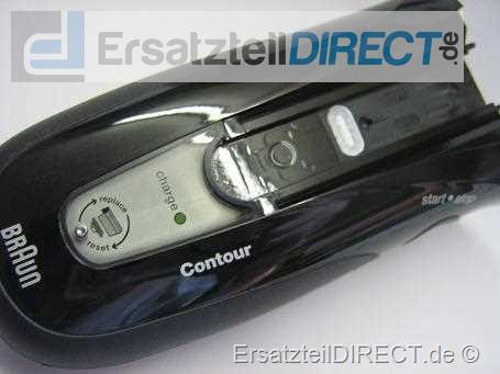 Rasierer Gehäusehülle (black /schwarz) für Series 3 Modelle Type (5739) 350 360 / 5775, 5873, 5874 67030450