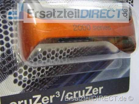 Braun Rasierer Scherfolie 2000 CruZer Metalic-Rot