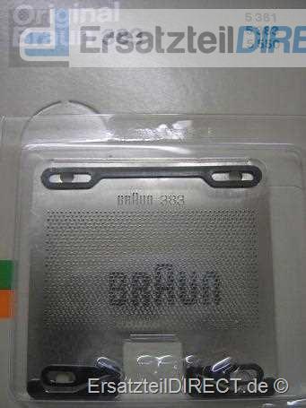 Braun Scherfolie / Scherblatt SB 383 - (5383/5381)
