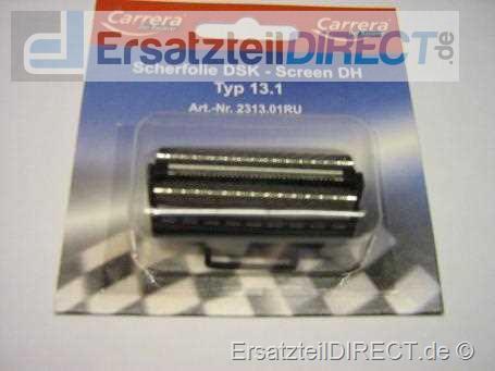 Carrera Rasierer Scherfolie (RU) Typ 13.1 / 15.1 #