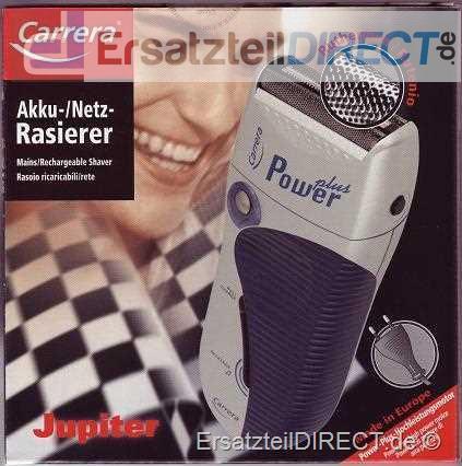 Carrera Elektro-Rasierer Jupiter 2028.2PP Akku /Ne