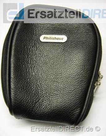 Philips Rasierer Lederaufbewahrungsetui (schwarz)