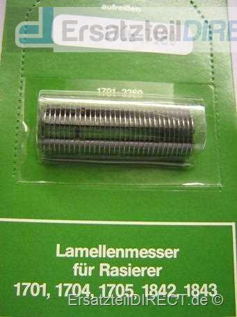 Privileg Schermesser Type 1701 1704 1705 1842 1843