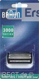 Braun Scherblatt SB 3000 (Scherfolie 3600) sw #