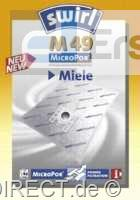 Swirl Staubsaugerbeutel M49 AirSpace-MicroP. Miele