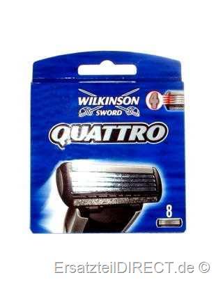 Wilkinson Ersatzklingen Quattro / 8er-Pack