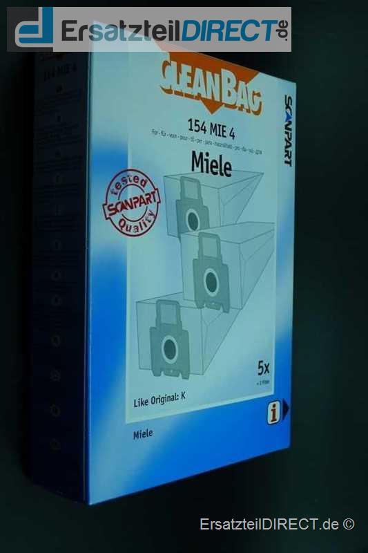 CleanBag Staubbeutel 154 MIE 4 wie Miele Typ K
