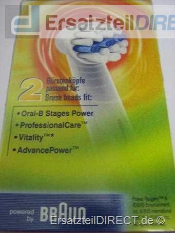 Braun Zahnb�rstenaufsatz Oral-B Stages Power 2er