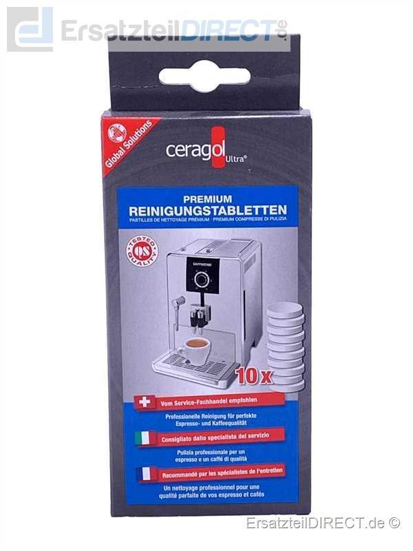 Ceragol Kaffeemaschine Premium Reinigungstabs 10er