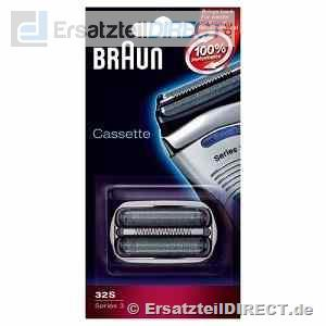 SPARPACK+ Braun Triple Action 32S Serie3 Cassette