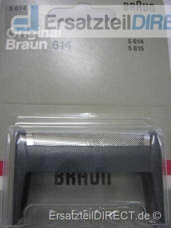 Braun Scherblatt 614 (dark-grey) für Pocket Twist#