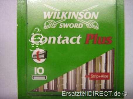 Wilkinson Ersatzklingen Contact plus / 10er-Pack