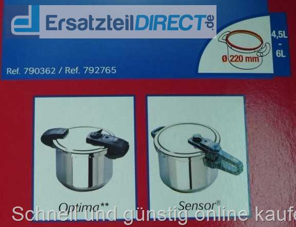 Tfal Sealing Ring Gasket 790362 792765 220mm OPTIMA SENSOR Pressure Cooker 22cm
