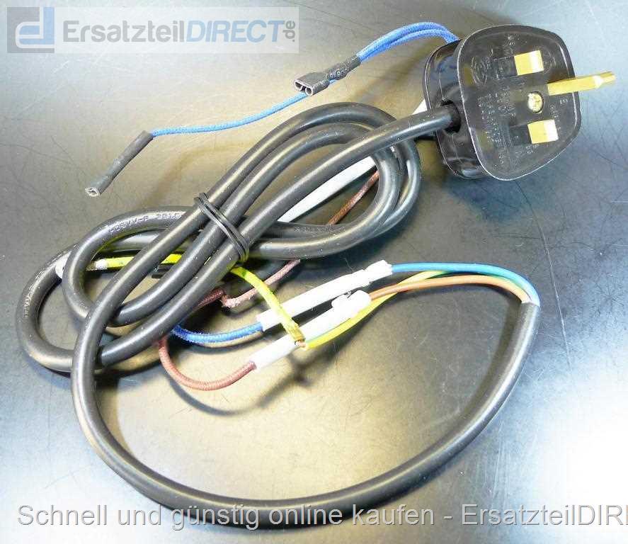 Tefal Dampfgarer Stromkabel für VS4003 *UK-Stecker SS-992331