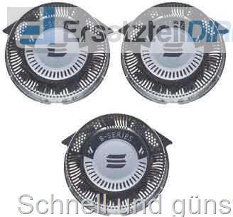 3er Set Scherkopf Klingen für Philips SpeedXL SmartTouchXL HQ9 HQ9//50 PT920