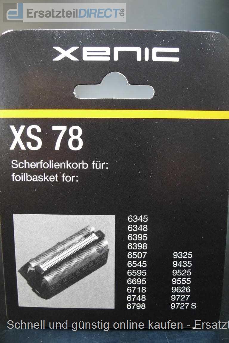 xenic xs78  Xenic / Grundig Scherfolie XS78 (RPS7800 GS78) 240017-GS78-XS78 ...