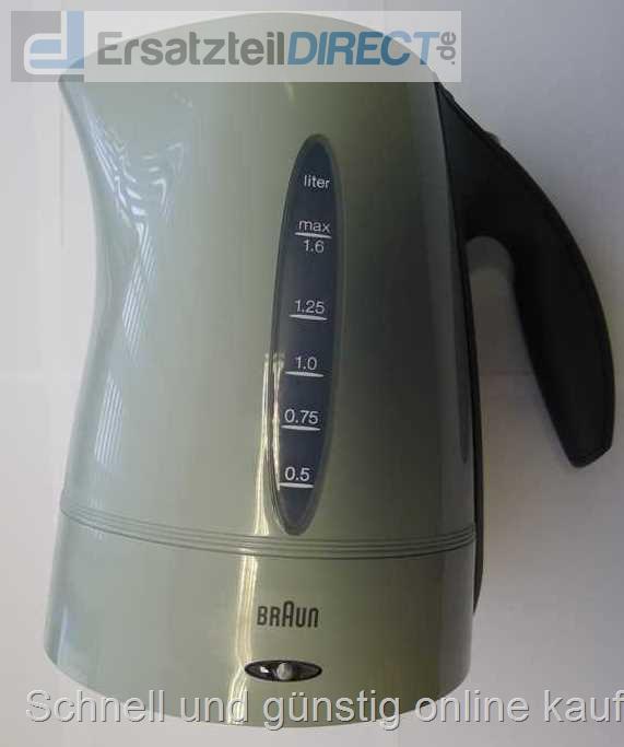 Braun wasserkocher ohne sockel wk300 308 3219 sg - Miito wasserkocher ...