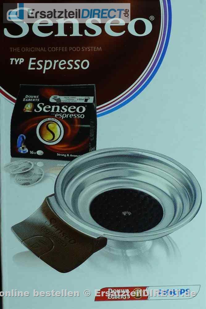 philips senseo espresso padhalter 1 tasse hd7003 hd7003. Black Bedroom Furniture Sets. Home Design Ideas