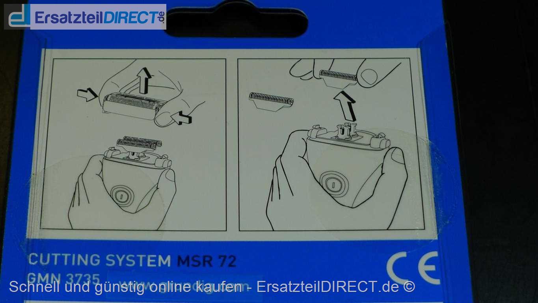 Grundig Kombipack (Scherfolie + Klingen) MSR72 MSR72