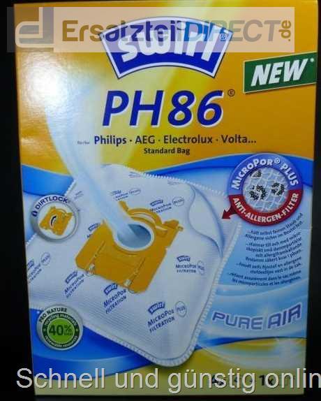 swirl staubsaugerbeutel ph 86 airspace swirl ph86 billig kaufen g nstig. Black Bedroom Furniture Sets. Home Design Ideas