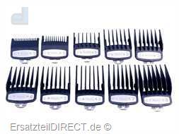 Wahl Haarschneider Kamm Premium-Set 1.5mm - 25mm