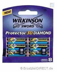 Wilkinson Ersatzklingen Protector 3D Diamond / 8er