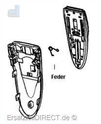 Braun Langhaarschneider (drehbar) Cruzer2/3-Modele