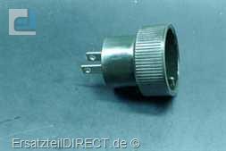 Braun Netzadapter mit Flachstiften (Reiseadapter)