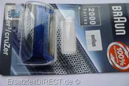 Braun Scherblatt SB 2000 1000 Cruzer - calypsoblau