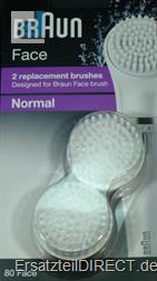 Braun FACE Silk-épil 80 Ersatz-Bürstenköpfe 2erSet