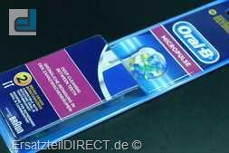 Braun OralB Zahnbürstenaufsatz MicroPulse EB25-2er