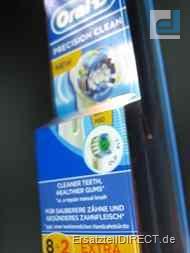 Braun Oral-B Zahnbürstenaufsatz PrecisionClean 8+2
