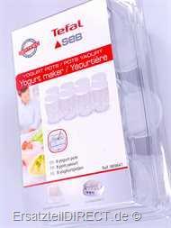 Tefal Joghurt Bereiter Gläser Set 8 Stück 8872 YG5