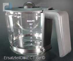 Philips Glaskanne / Kaffeekanne für HD 7688 HD7689