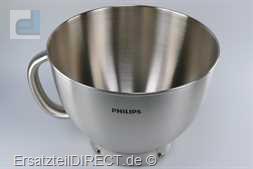 Philips Küchenmaschinen Metallschüssel HR7950-7958