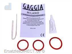 Gaggia Kaffeemaschinen Service-Set Dichtungen Fett