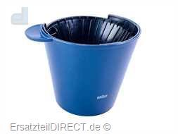 Braun Filterbehälter AromaSelect FlavorSelect Blau