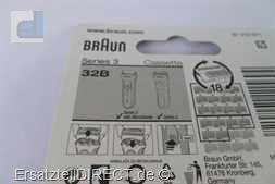 Braun TripleAction Kombipack 32B Serie 3 Cassette