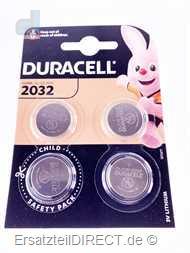 Duracell Lithium Knopfzelle 3Volt (4x) CR2032