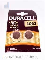 Duracell Lithium Knopfzelle 3Volt (2x) CR2032