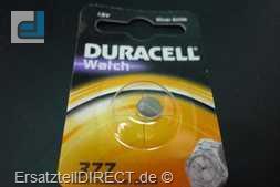 Duracell Knopfzelle 377 B1 Uhr-Batterie